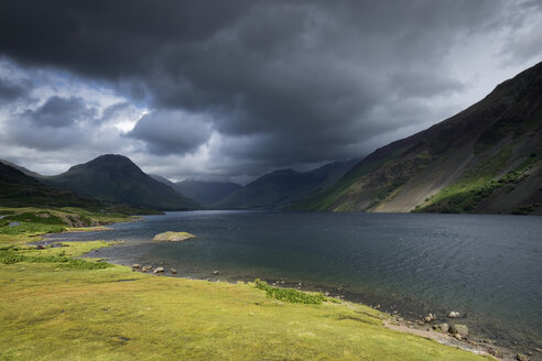 United Kingdom, England, Cumbria, Lake District, National Park, Wastwater - ELF001298