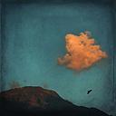 Cloud over a ridge - DWI000216