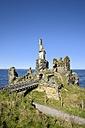United Kingdom, Scotland, Wick, Northeast Coast, Ruin Castle Sinclair Girnigoe - ELF001359