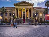 Italy, Sicily, Palermo, Teatro Massimo at Piazza Verdi - AM002880