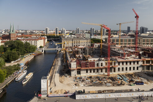 Germany, Berlin, construction site of Berlin City Palace - WI001091
