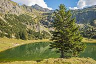 Germany, Bavaria, Allgaeu, Allgaeu Alps, Unterer Gaisalpsee - WGF000473