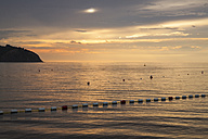 Slovenia, Istria, Slovene Littoral, Izola, Adriatic coast in the evening - WIF001105