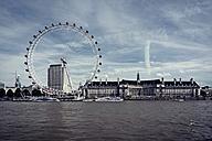 United Kingdom, England, London, River Thames, London Eye - PA000987