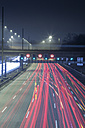 Germany, Hamburg, evening rush hour on the Autobahn - NKF000195