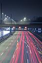 Germany, Hamburg, evening rush hour on the Autobahn - NKF000195