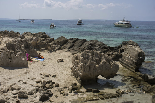 Spain, Balearic Islands, Ibiza, Las Salinas, beach - TK000399
