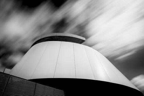 Part of facade of futuristic buliding - HCF000068