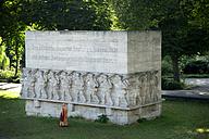 Germany, Hamburg, war memorial at Dammtor - CSTF000423