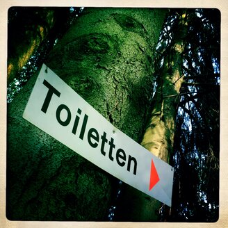 Toilet sign - DHL000485