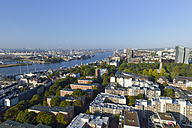 Germany, Hamburg, view from St. Michael's Church with river Elbe - RJF000298