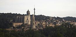 Spain, Catalonia, Girona Province, Girona, Cityscape - DHL000503