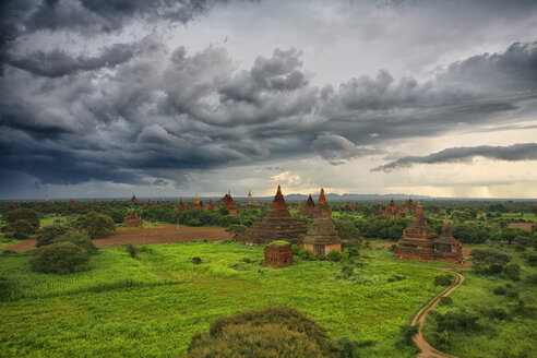 Myanmar, archaelogical site of Bagan - DSGF000336