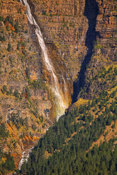 Spain, Ordesa National Park, waterfall - DSGF000474