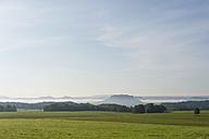 Germany, Saxony, Saxon Switzerland, National Park, View to Bastei - MJF001374