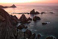Spain, Almeria, Arrecife de las Sirenas in Cabo de Gata Nijar Natural Park - DSGF000567