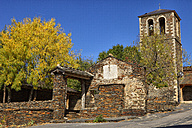 Spain, Campillo de Ranas, Old bell tower - DSGF000575