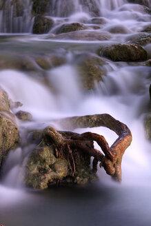 Spain, Albacete, Lagunas de Ruidera, Waterfalls of Guadiana river - DSGF000633