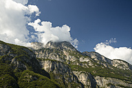 Italy, South Tyrol, Dolomites, Trentino, Mountain scenery and clouds - MYF000574