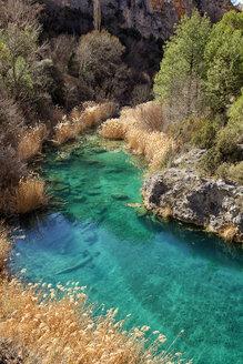 Spain, Water pool in Serrania de Cuenca Natural Park - DSGF000645