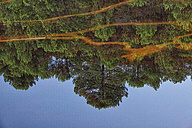 Spain, Huelva, Water reflections in the Rio Tinto - DSGF000637