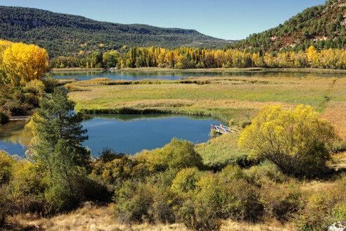 Spain, Cuenca, Lagoons of Jucar river near Una village - DSGF000669