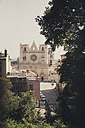 France, Department Rhone, Lyon, View to Lyon Cathedral - SBDF001322