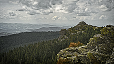 Germany, Bavarian Forest, view from Grosser Arber - DIKF000122
