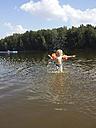 Little boy bathing in lake - MJF001469