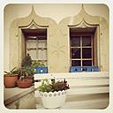 Switzerland, Gruyeres, window of a house - GW003227
