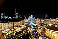 Germany, Hesse, Frankfurt, Christmas market at night - AMF002935