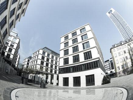Germany, Hesse, Frankfurt, Office complex system Taunus, Taunusanlage 16, mainBuilding, wide angle view - AM002939