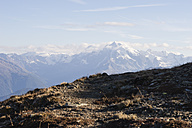 Italy, South Tyrol, Watles Area, View to Ortler Alps - MYF000615
