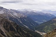 Italy, South Tyrol, Sulden, View to Ortler Alps - MYF000629