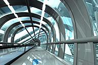 Futuristic passage of railway station, 3D Rendering - SPCF000037