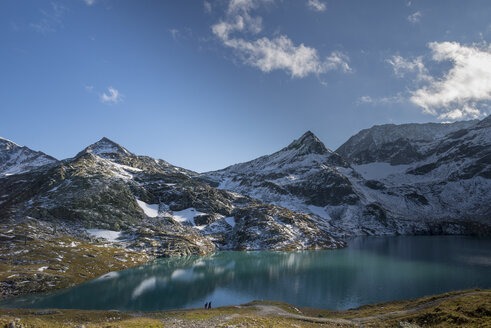 Austria, Salzburg State, Pinzgau, Weisssee mountain lake - MKFF000127