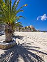 Italy, Sicily, Province of Trapani, Fishing village Castellammare del Golfo, Piazza Vincenzo Santangelo - AMF003005