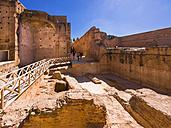 Morocco, Marrakesh, historical ruins of the El Badi Palace - AM003015
