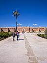 Morocco, Marrakesh, historical ruins of the El Badi Palace - AM003012