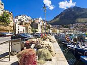Italy, Sicily, Province of Trapani, Fishing village Castellammare del Golfo, Harbour - AMF003043