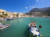 Italy, Sicily, Province of Trapani, Fishing village Castellammare del Golfo, Harbour - AMF003041