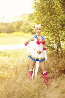Woman wearing costume of Pretty Guardian Sailor Moon - AFF000093