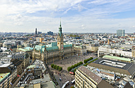 Germany, Hamburg, cityscape with city hall - RJF000337