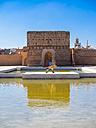 Morocco, Marrakesh-Tensift-El Haouz, Marrakesh, El Badi Palace - AM003047