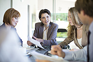 Business meeting in conference room - ZEF002164