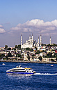 Turkey, Istanbul, View to Sultan Ahmed Mosque - THA000801