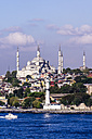 Turkey, Istanbul, View to Sultan Ahmed Mosque - THAF000803