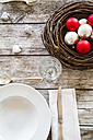 Laid table with Christmas decoration - LVF002145