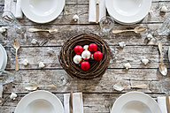 Laid table with Christmas decoration - LVF002143