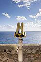 Spain, Balearic Islands, Mallorca, Capdepera, telescope - HLF000751